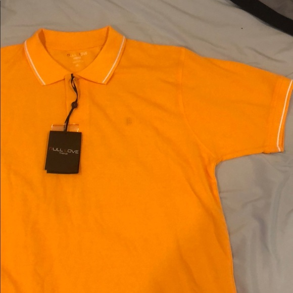 Pull Love Firenze Other - Orange L Polo